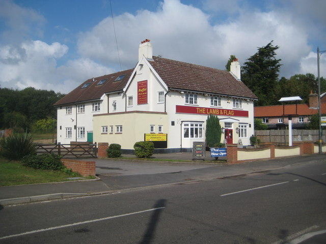 Colliers End: The Lamb & Flag