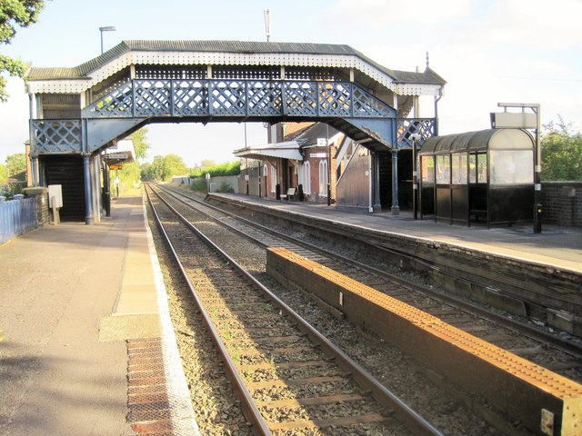 Albrighton railway station, Shropshire