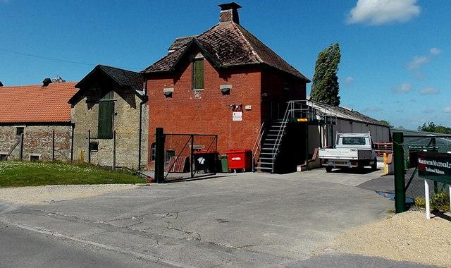 Entrance to Warminster Maltings Ltd