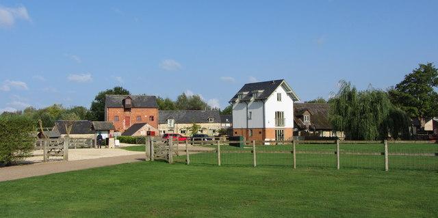 Farm buildings on Lower Mill Estate