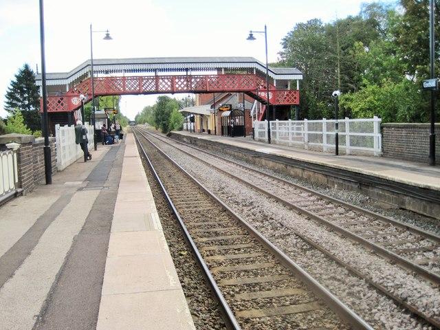 Codsall railway station, Staffordshire