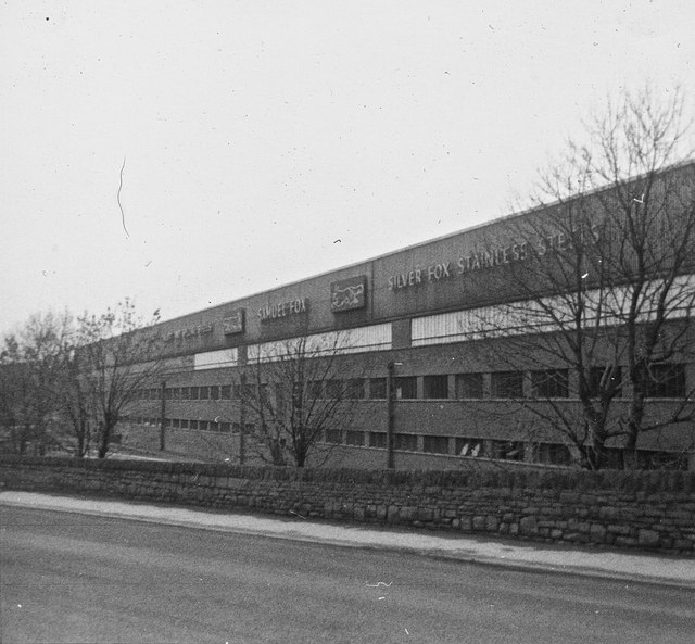 Samuel Fox's steelworks at Stocksbridge
