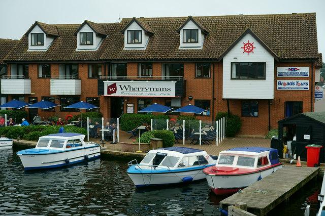 Wherrymans at Wroxham