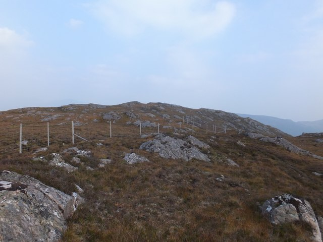 Deer fence above Creag Dhubh