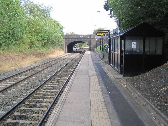 Bilbrook railway station, Staffordshire