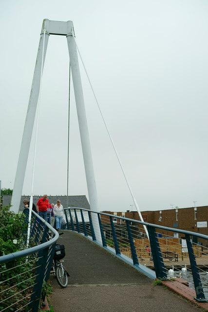 Footbridge in Wroxham