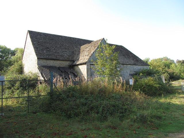 Manor House, disused, near Ashton Keynes