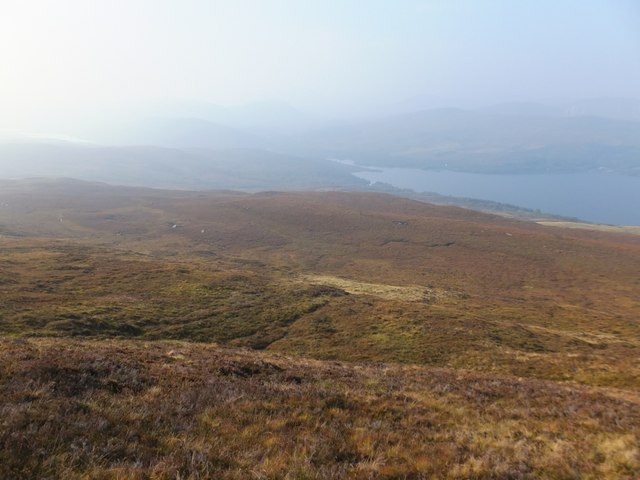 Moorland to north-west of Sgùrrachd Ire