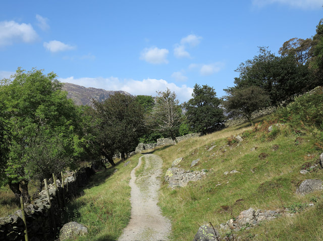 Footpath between Rosthwaite and Stonethwaite