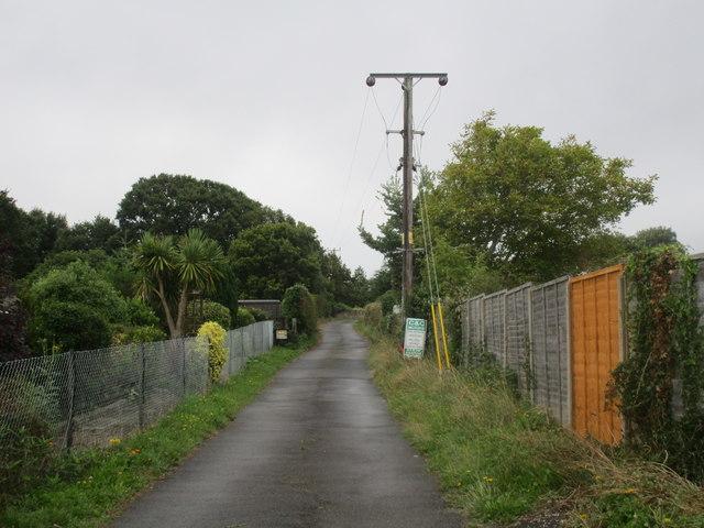 Track to Winnham Farm