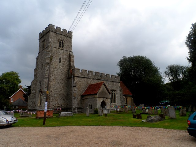 St Nicholas' church, Tolleshunt D'Arcy