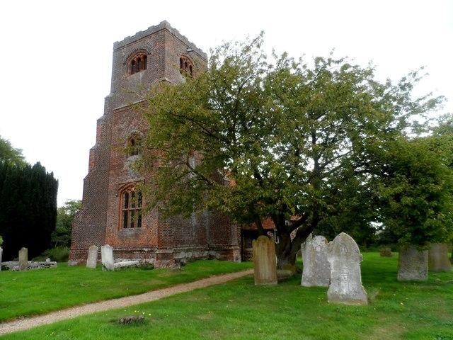St Nicholas' church, Tolleshunt Major