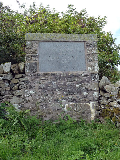 The Luggie Memorial Stone at Clovenfords