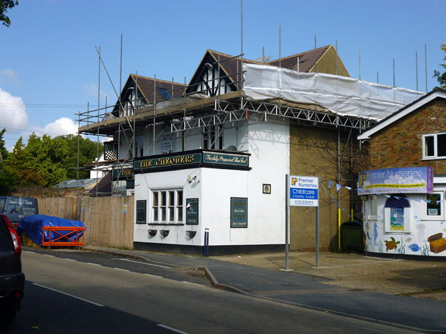 The Chequers, Iver (closed)