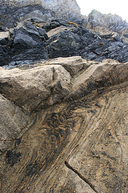 Folds in Limestone