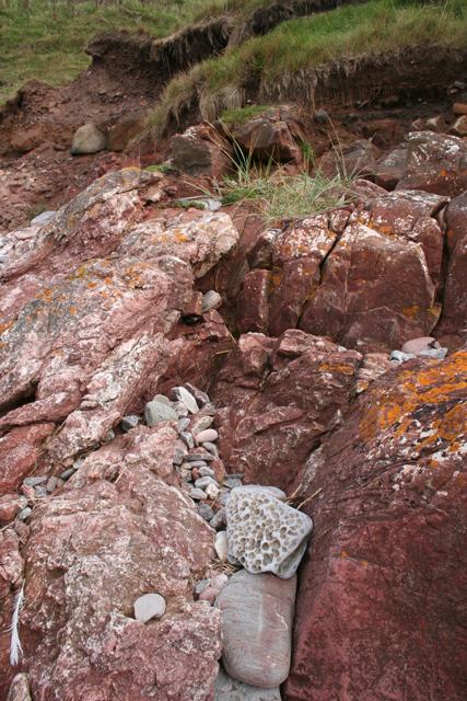Dalradian-Devonian Unconformity