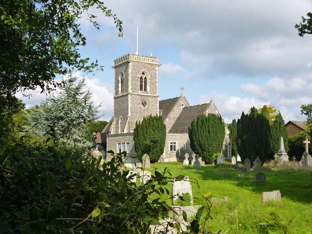 Iver Heath church