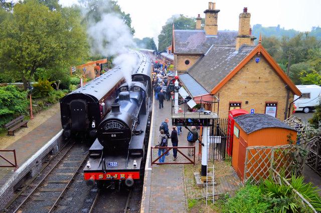 SDJR No 88 at Arley