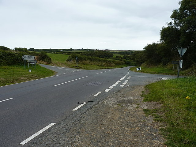 Crossroads on the B4327