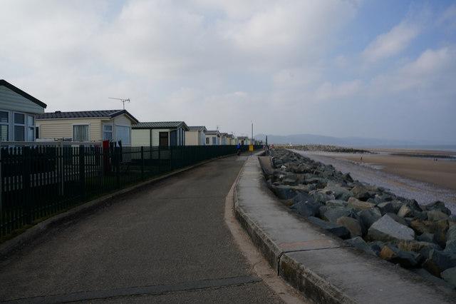 Wales  Coast Path towards Towyn