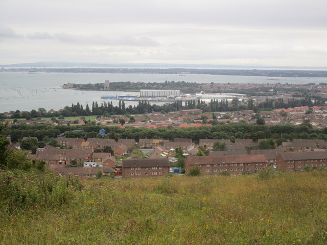View towards Portchester