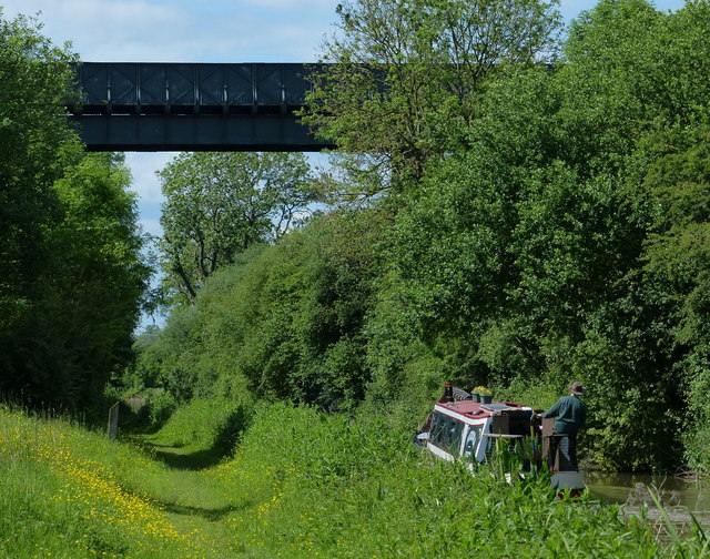 Nettle Hill Bridge crossing the Oxford Canal