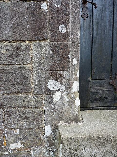 OS benchmark - Walwyns Castle church