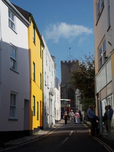 Lyme Regis: Monmouth Street