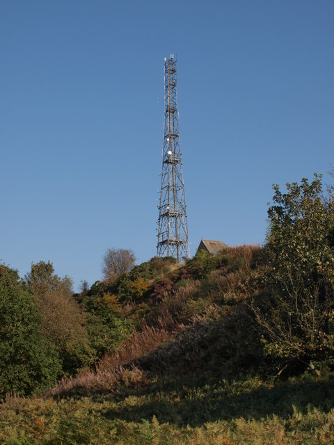 Cathkin Braes radio mast