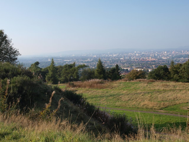 North side of Cathkin Braes