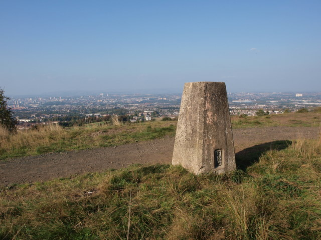 Cathkin Braes trig point
