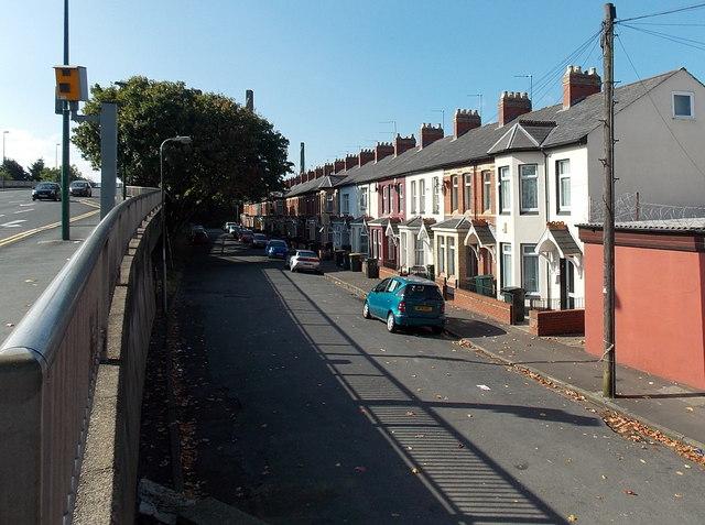 Morris Street, Newport