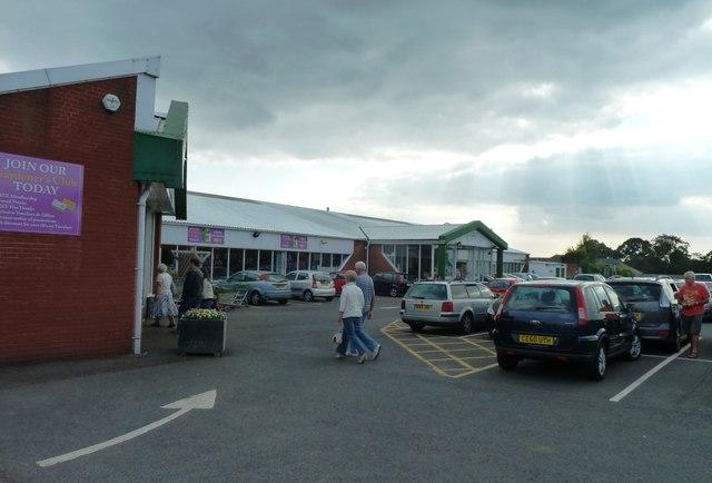 Entrance to Chepstow Garden Centre