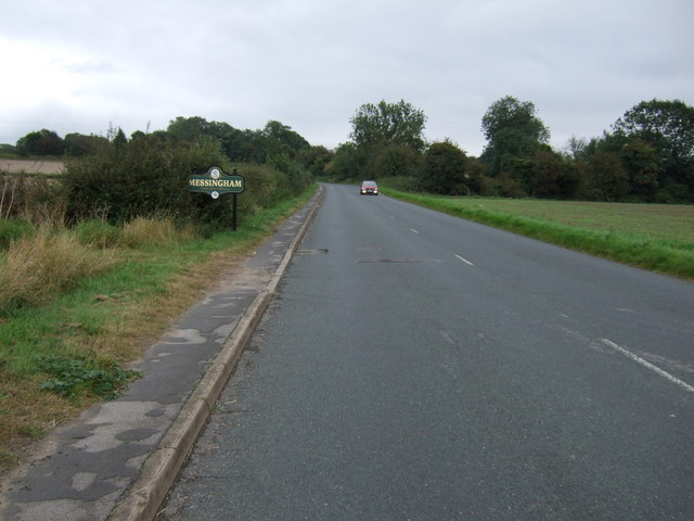 Entering Messingham
