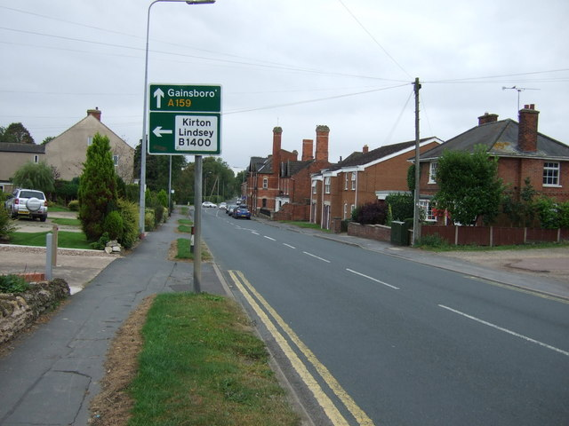 High Street, Messingham (A159)