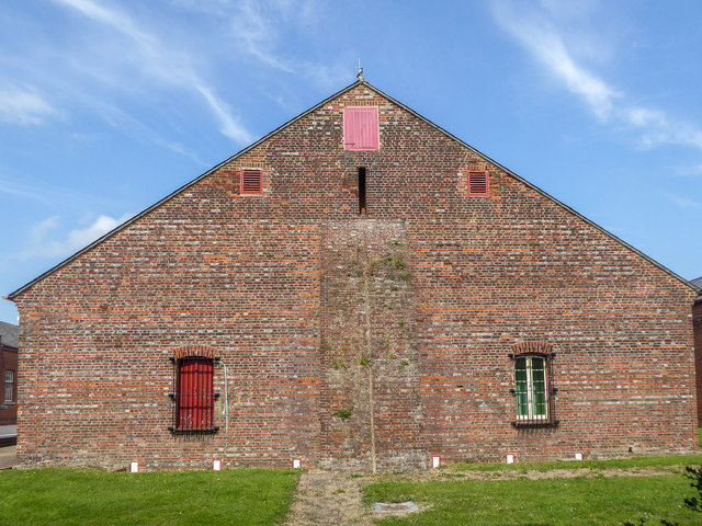 Building at Explosion Museum of Naval Firepower, Gosport, Hampshire