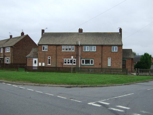 Houses on Brigg Road, Messingham