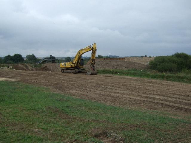 Quarrying off Brigg Road