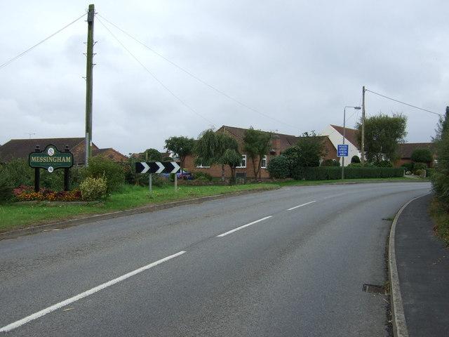 Entering Meesingham