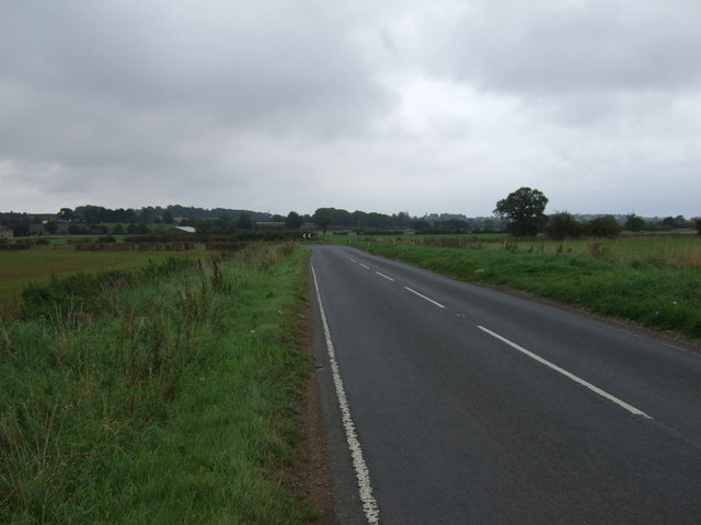 B1400 towards Kirton in Lindsey