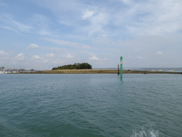 Burrow Island, Portsmouth Harbour, Portsmouth, Hampshire
