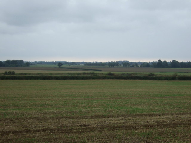 Stubble field off Kirton Road