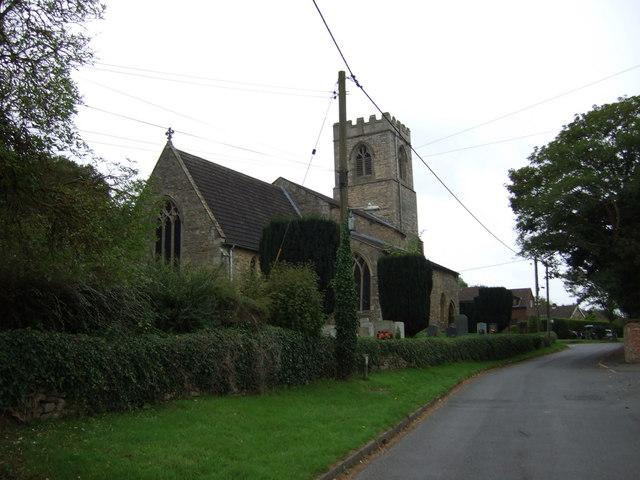 St.Genewys' Church, Scotton
