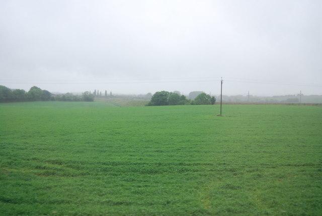 Farmland on the edge of Hitchin