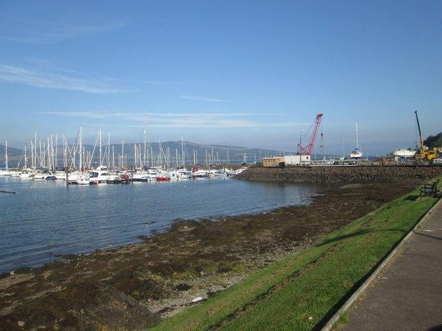Marina at Port Bannatyne