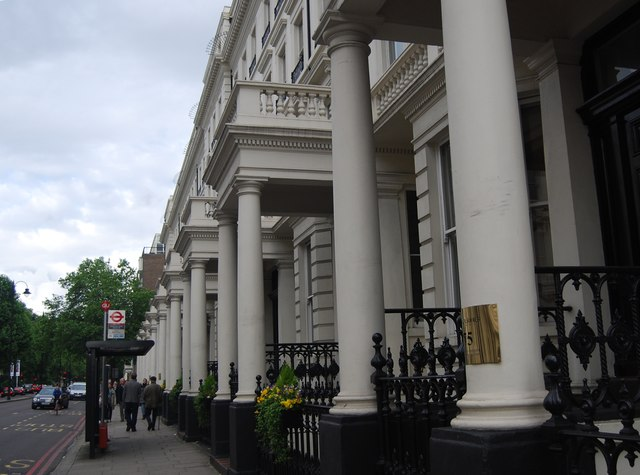 Town houses, Cromwell Rd
