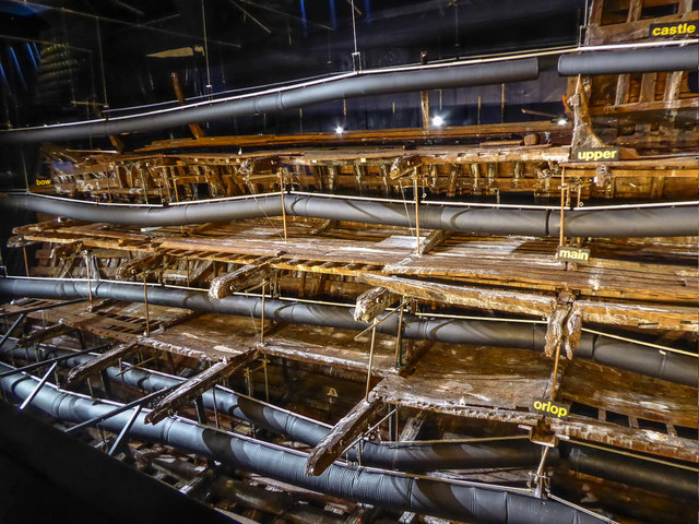 Mary Rose Museum, Portsmouth Historic Dockyard, Portsmouth, Hampshire