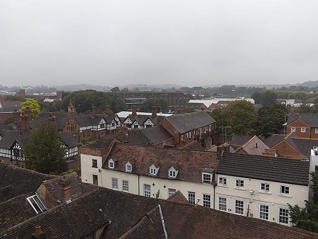 Worcester rooftops