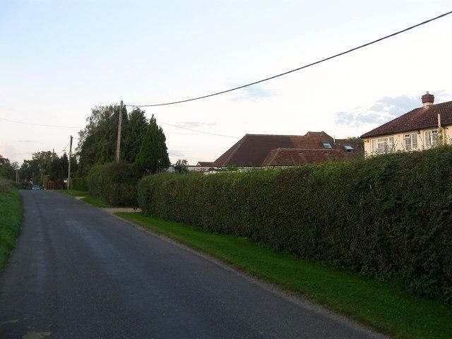Bolney Chapel Road, Crosspost