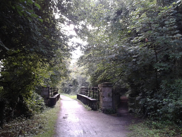 Camel Trail, on the old railway trackbed
